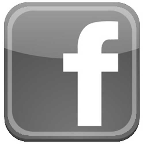 facebook log bw